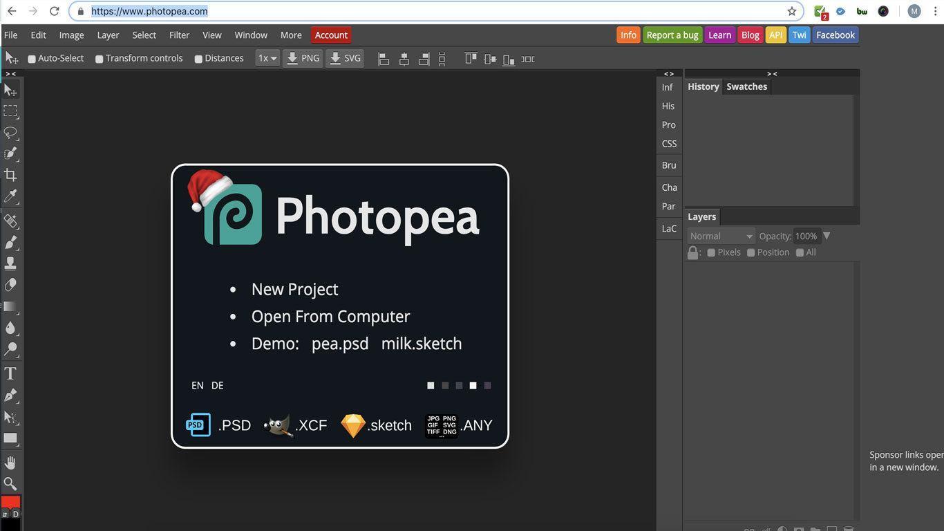 Photopea-kostenlose-Photoshop-Alternative